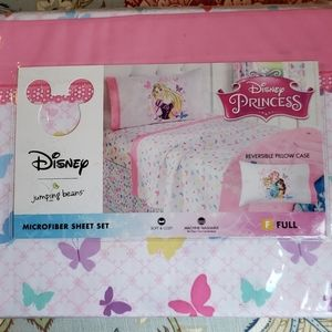 Disney Princess Full Sheet Set